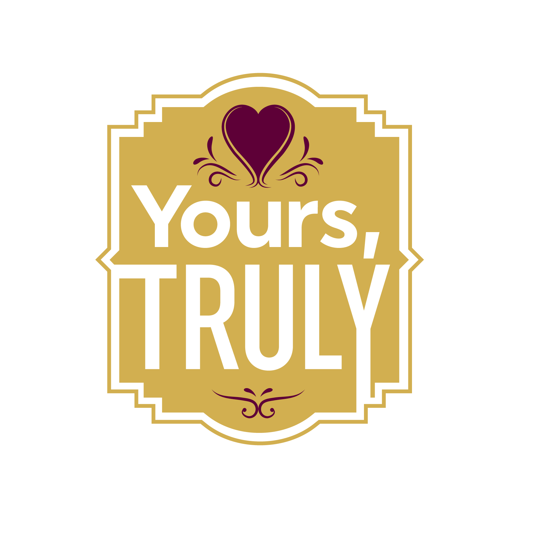 yours truly logo