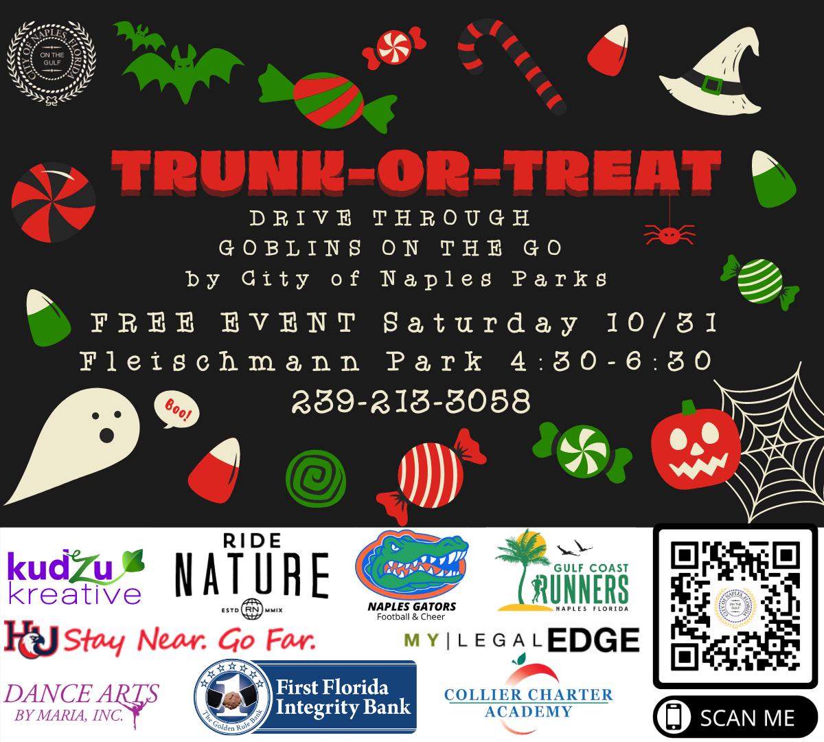 trunk or treat sponsors