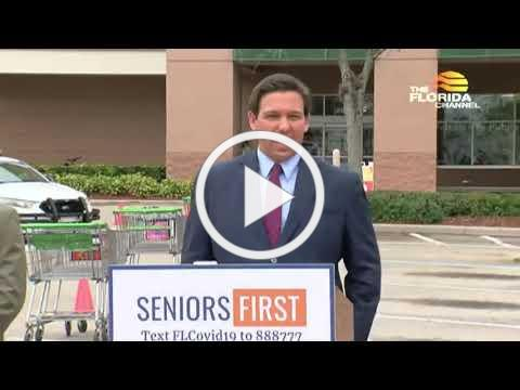 Governor Ron DeSantis announcement Video Covid vaccination sites