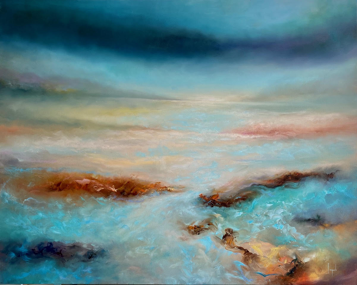 The Calm Before 48x60 oil on canvas Dario Campanile