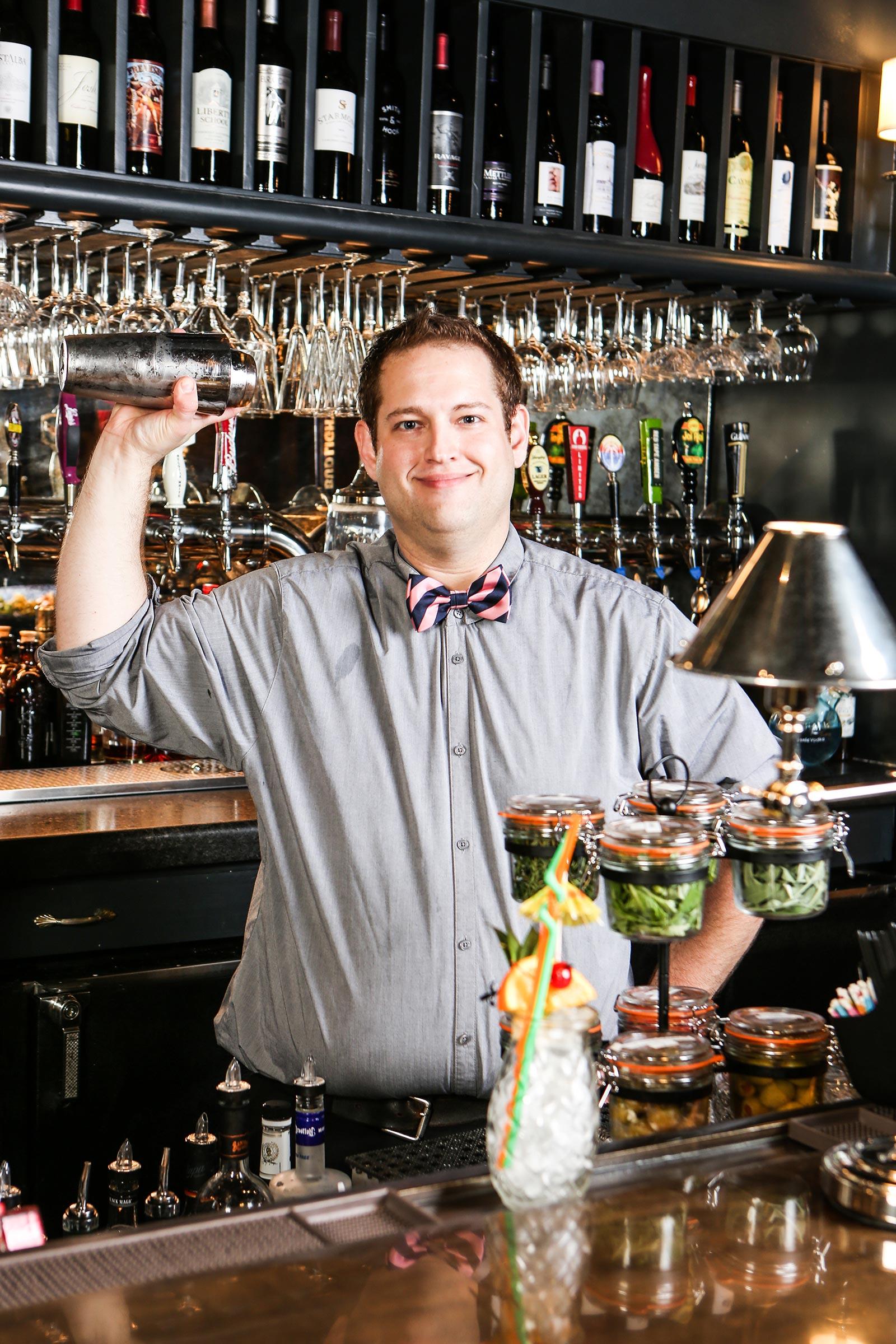 John Tucker, bar manager at The Saloon Named Best Bartender